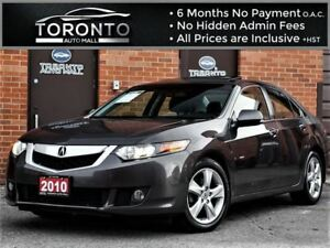 2010 Acura TSX Premium+Leather+Sunroof+Power seats+Heated seats