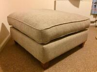 Linea Laine Chaise Footstool - as new - *REDUCED*
