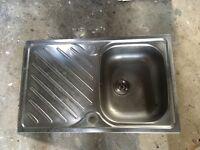 Stainless steel sink used