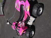 Girls 12volt 4-wheeler