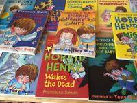 18 Horrid Henry Paperback books