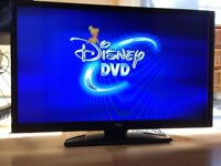 "*** 32"" Flat screen WITH built-in DVD player. Brand: Digihome ***"