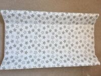 Cot top baby changing mat