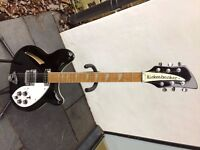 Rickenbacker 360: classic 1990 model: great sound! Price reduced!