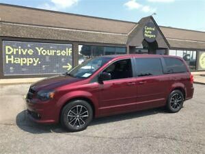 2017 Dodge Grand Caravan SXT / DVD PLAYER / NAVIGATION / BLUETOO