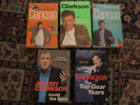 Collection of 5 Jeremy Clarkson Books