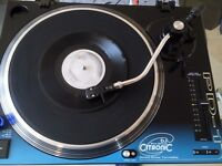 Citronic PD-1 Direct Drive DJ Turntable +new Diamond Tip Replacement Stylus , working