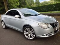 VOLKSWAGEN EOS SPORT 2.0 TURBO TFSI CONVERTIBLE # FULL LEATHER # HEATED SEATS #PARKING SENSORS# gti