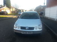 volkswagen polo 54 plate with very low millage only 60000 guranteed