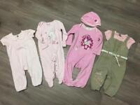BABY GIRLS CLOTHES SIZE 6-9