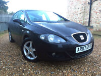 2007 SEAT LEON SPORT 1.9TDI , 10 MONTHS MOT, BLACK METALIC, 2 KEYS, NICE AND CLEAN, L@@K!!!