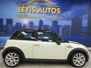 2008 MINI COOPER S TURBO TOIT PANORAMIQUE CUIR 6 VITESSE 117800