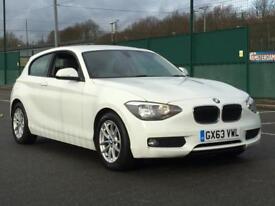2013 BMW 116D EFFICIENTDYNAMICS SPORTS * 3 DOOR * 1 OWNER * WHITE * F.S.H * PX * DELIVER Y * FINANCE