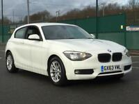 2013 BMW 116D EFFICIENTDYNAMICS SPORTS * 3 DOOR * 1 OWNER * WHITE * F.S.H * PX * DELIVER Y * FINANCE