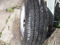SPARE WHEEL FOR VAN 225 X 70 R15 6 STUD GOOD CON