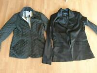 2 Size 10 jackets both for £3