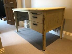 Large Worktop Desk (Distressed Finish)