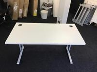 Modern white 1200mm desks. FREE FAST DELIVERY AND INSTALLATION