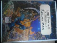 Terry Pratchett Unabridged Reaper Man Audio Cassete Set