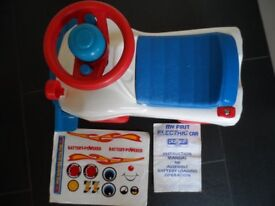 My First Electric Car by Playcraft Quality Toy & Baby Learning Sink Basin