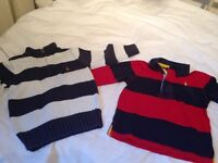 Ralph Lauren clothes for boys 18months and 2 years old. Burberry trousers. Good quality.