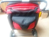 New Twin pram only used once £150