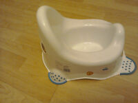 Potty and toilet trainer seat, free, hardly used