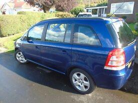 Vauxhall Zafira 1.6V Exclusiv 5 door MPV