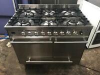Range gas cooker and electric ovens 100cm Britannia