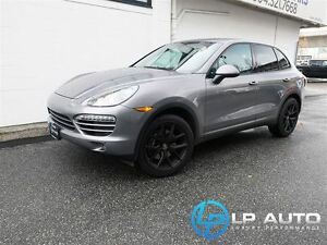 2012 Porsche Cayenne Local Vancouver Vehicle!!