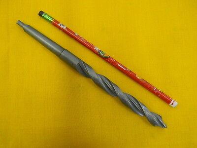1 Morse Taper Shank .530 Drill Bit Lathe Mt Mill Tool Usa Stepnose