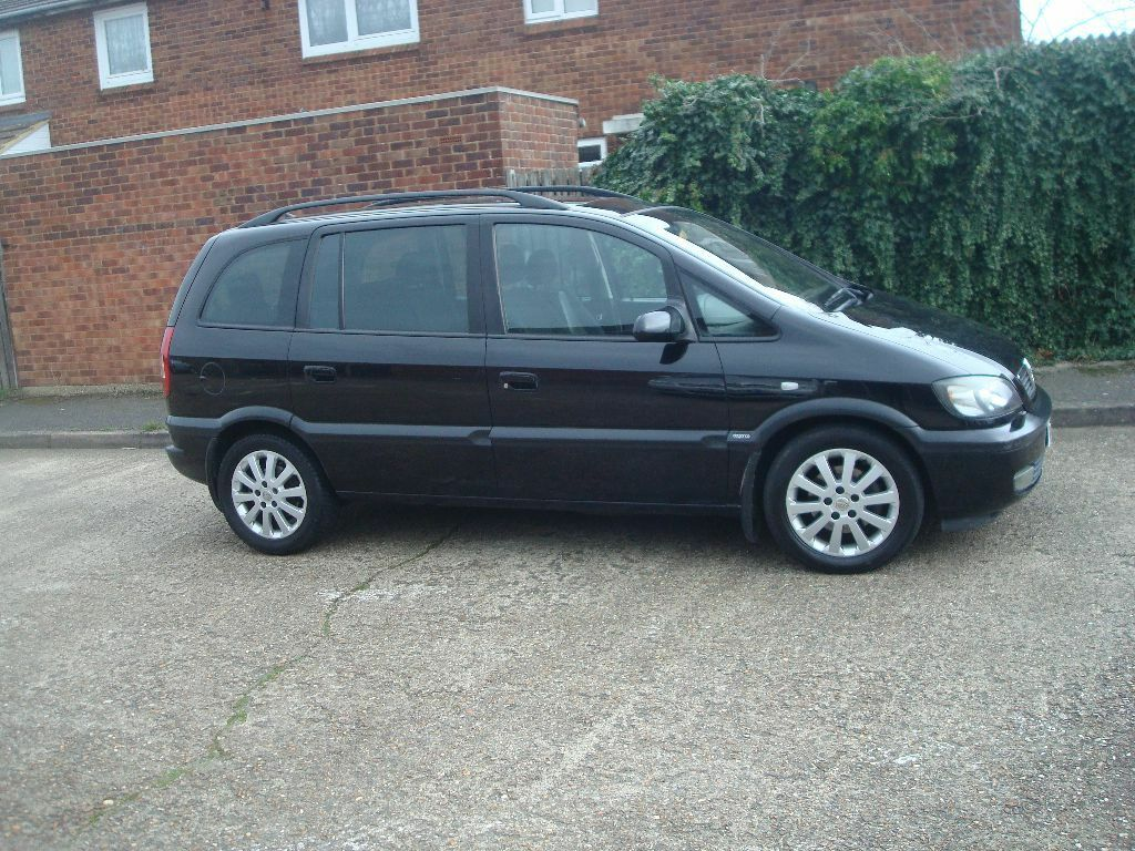 vauxhall zafira elegance dti 2 0l black 2003 in aylesbury buckinghamshire gumtree. Black Bedroom Furniture Sets. Home Design Ideas