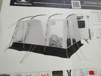 Caravan Porch Awning Sunncamp Strand 390 - plus Two Double Bedroom annexes
