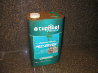 Cuprinol Trade Exterior Wood Preserver - GOLDEN Brown - 5 Litres 5L Can / Tin