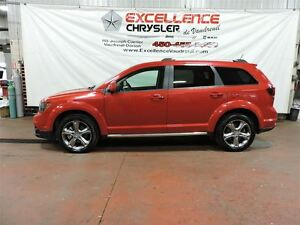 2016 Dodge Journey CROSSROAD, AWD, NAV, TOIT, 7 PASSAGERS West Island Greater Montréal image 4