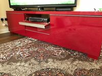 Tv unit , table , excellent condition