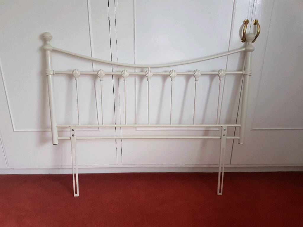 cheap for discount c4860 b0b34 NEXT Double Headboard cream ivory metal hardly used excellent condition |  in Bridge of Earn, Perth and Kinross | Gumtree