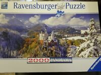 Jigsaw Puzzle - 2x Ravensburger (2000 piece and 500 piece large format) and 'Pick n Mix' Puzzle