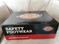 Dickies size 8 Gironde waterproof leather safety boots.