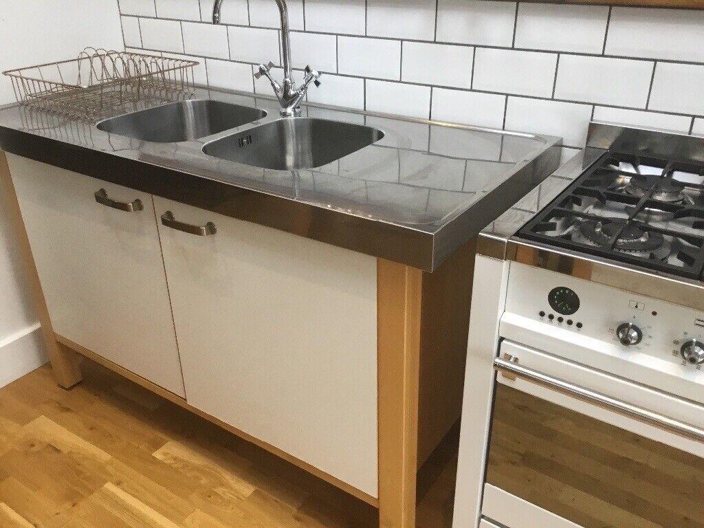 Ikea Free Standing Kitchen Units Smeg Gas Cooker Built In Dishwasher Bournemouth Dorset Gumtree
