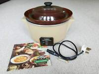 Tower Slow Cooker/Crock Pot with Stoneware Dish