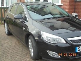Vauxhall Astra 1.6 Elite Auto Black IMMACULATE CONDITION