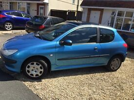 Peugeot 206, 1.1L, 2000 Reg, Great Runner, Good first car. Offers Considered !!!