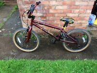 Voodoo BMX hardly used bargain