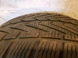 Winter tyres Vredestein M+S 275/45/19