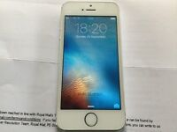 iPhone 5S 16GB SILVER ( EE, ORANGE, T. MOBILE AND VIRGIN)