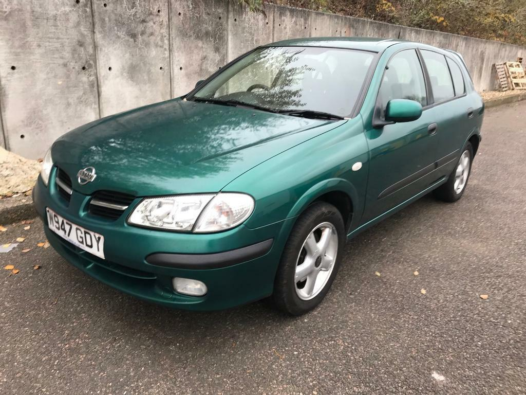 Nissan Almera Petrol Manual, only 2 owners