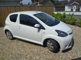 Toyota Aygo, Excellent Condition,A/C,Full Service History,Years MOT, Brand New Mats,No Road Tax