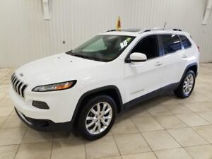 2015 Jeep Cherokee Limited*NAV*MAGS*TOIT*CAMÉRA*UCONNECT 8.4''*