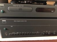 NAD C370 Stereo Amplifier (free nad C541 cd player)